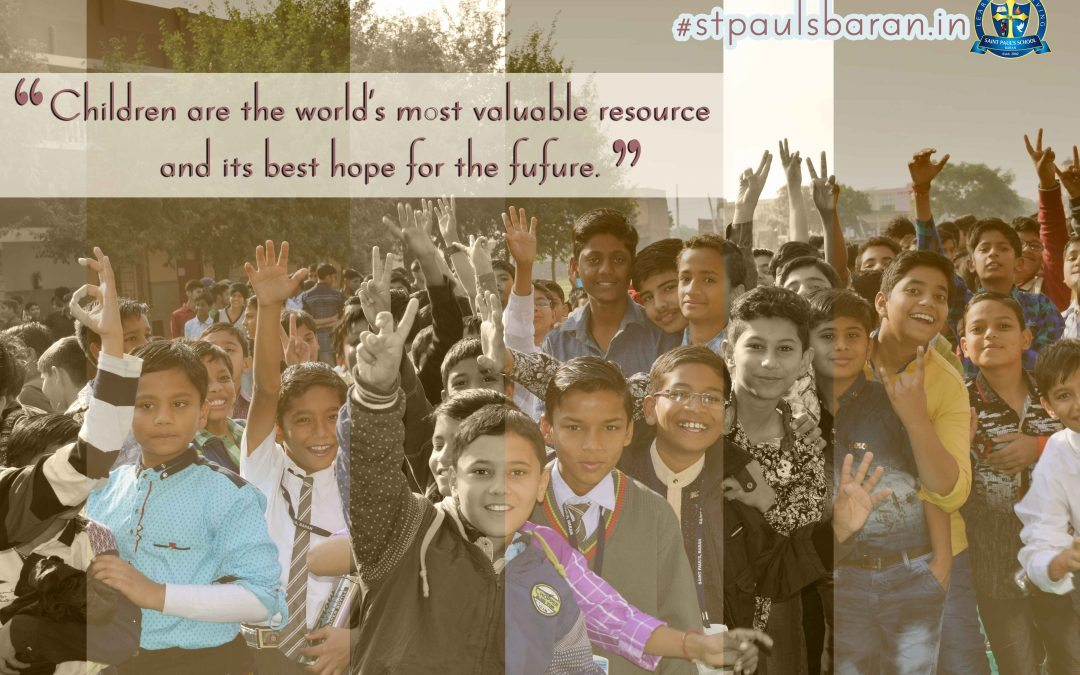 Children are the world's most valuable resource…